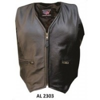 Ladies Zippered Vest