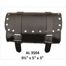 Small Studded Leather Tool Bag.