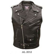 Men's Sleeveless Motorcycle Jacket AL2012