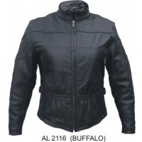 Ladies Vented Jacket In Buffalo