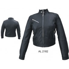 Ladies Riding Jacket In Lambskin Leather