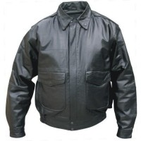 Kids Bomber Jacket In Soft Lambskin Leather