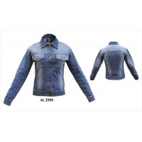 Ladies Blue Denim Style Jacket