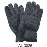 Full Finger Gloves With Gel Palm With Large Velcro Strap