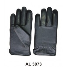 Men'S Lined Riding Gloves In Soft Naked Cowhide Leather