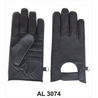 Men's Unlined Riding Gloves In Naked Cowhide Leather