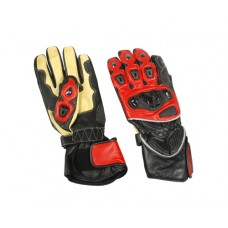 Sport Bike Riding Gloves Red Yellow