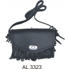 Ladies Fringed Shoulder Bag PVC