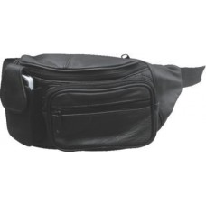 Leather Fanny Bag With Cell Phone Pocket