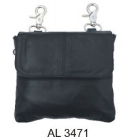Ladies Leather Belt Loop Bag