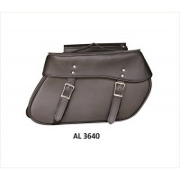 Large Throw-Over Saddle Bag In PVC