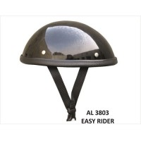 Easy Rider Glossy Novelty Helmet With Y Straps